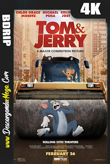 Tom y Jerry (2021) 4K UHD [HDR] Latino