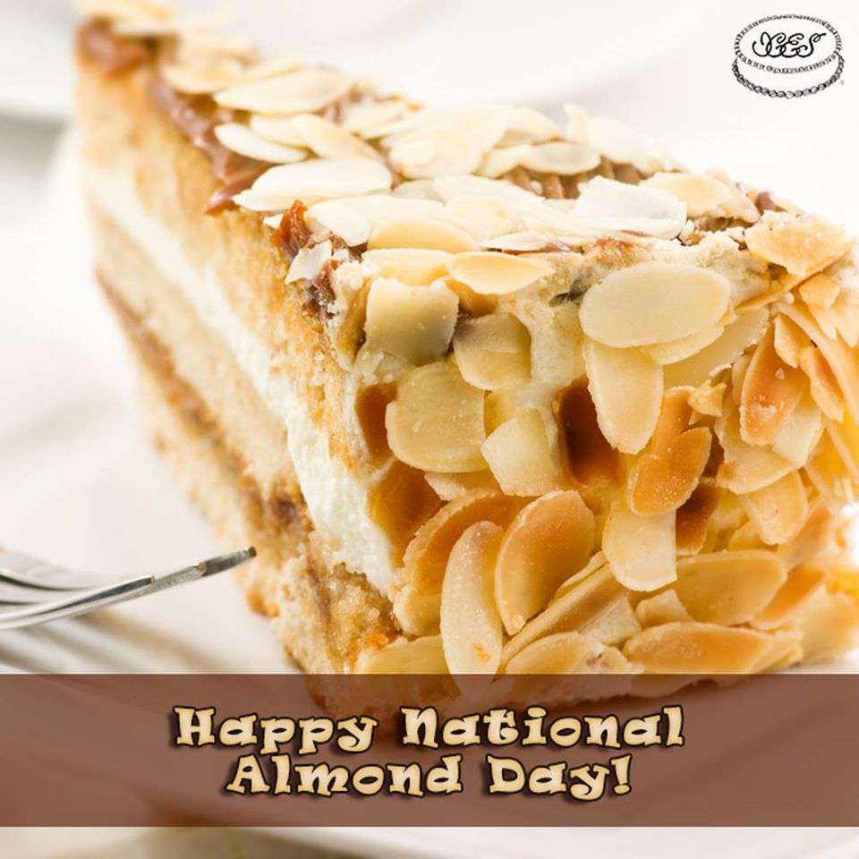 National Almond Day Wishes Beautiful Image