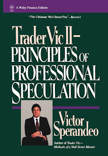 Trader Vic II: Principles of Professional Speculation (1994) by Victor Sperandeo