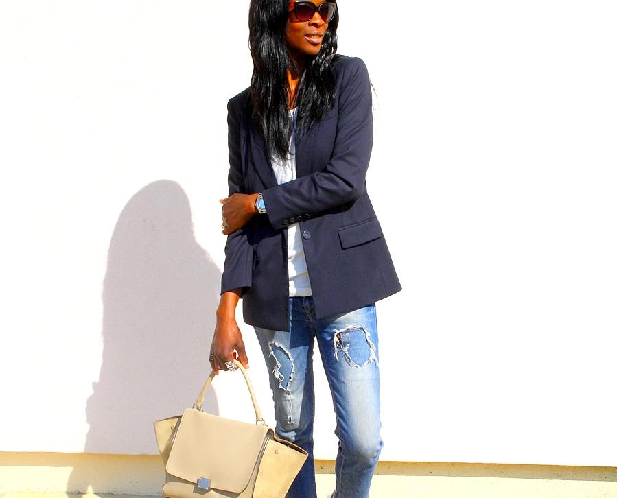 look-working-girl-sac-celine-trapeze-blazer-mango-jeans-zara