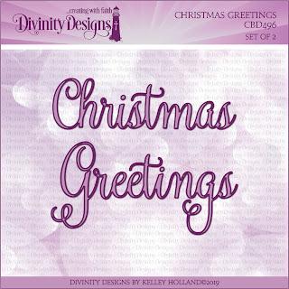 CHRISTMAS GREETINGS DIES