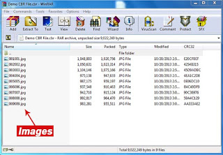 Edit CBR CBZ Files by opening in Win RAR - Pic 3
