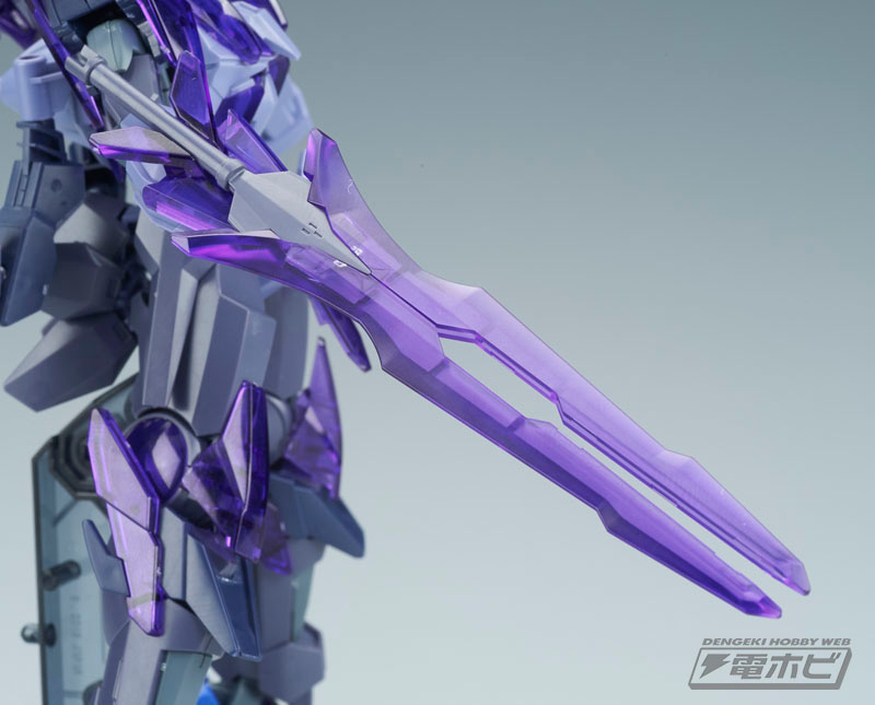 HGBF 1/144 Transient Gundam Glacier Sample Images by Dengeki Hobby