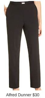 Sydney Fashion Hunter - She Wears The Pants - Alfred Dunner Black Women's Work Pants