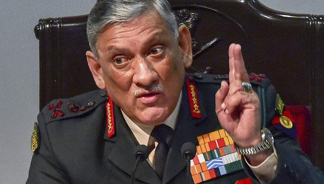 India should take tougher measures like US to end terrorism: Bipin Rawat,www.thekeralatimes.com