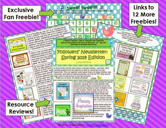 http://www.teacherspayteachers.com/Product/Spring-2014-Followers-Newsletter-and-Fan-FREEBIE-1133718