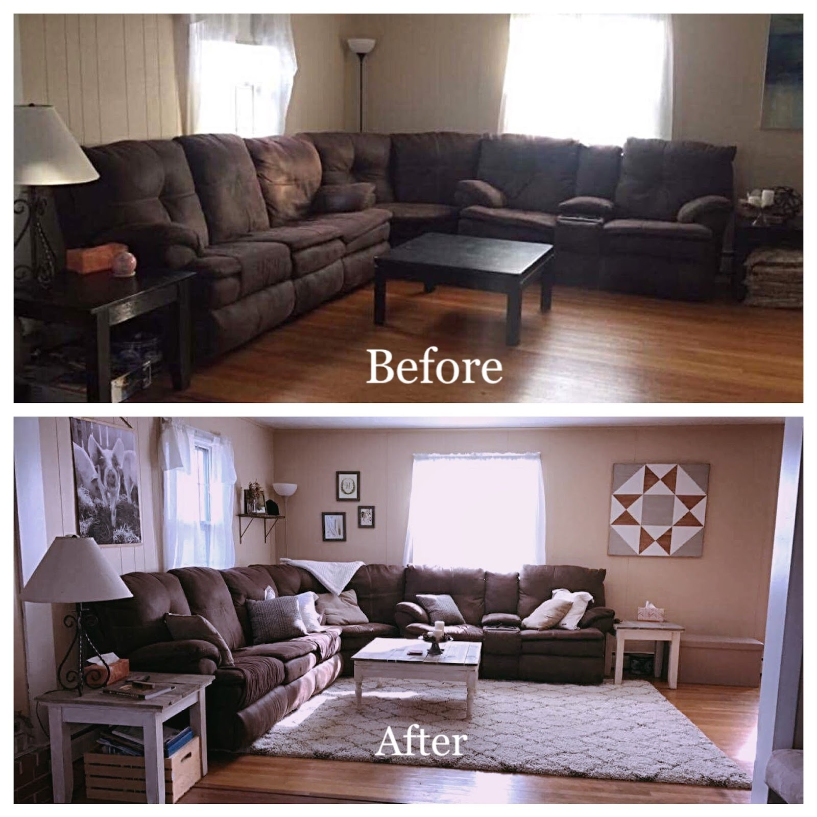 Rollo Family Farmhouse A Farmhouse Living Room Makeover Heather