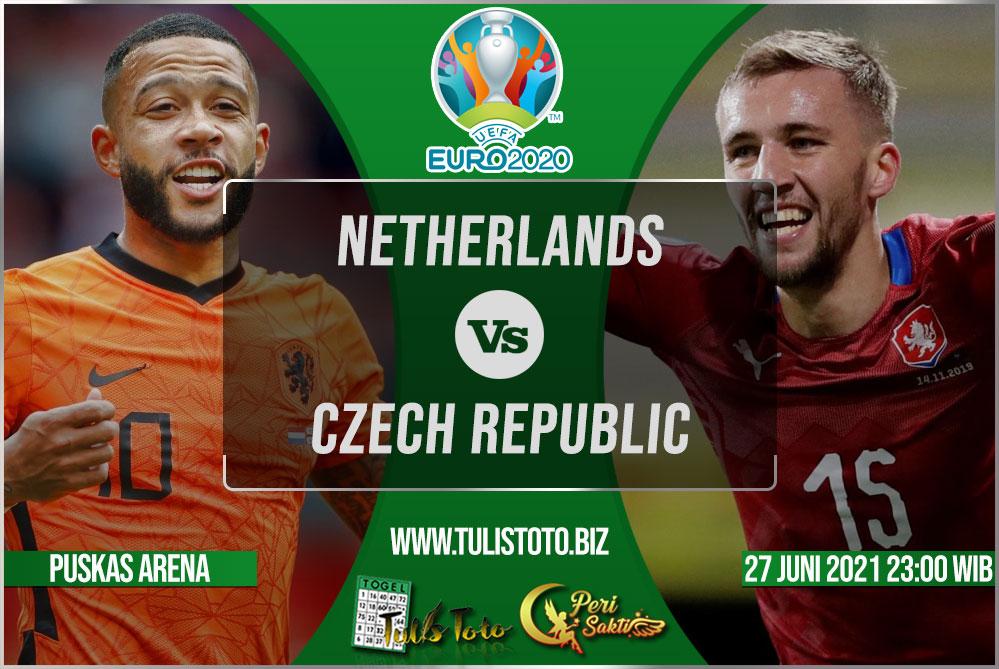 Prediksi Netherlands vs Czech Republic 27 Juni 2021