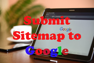 How to submit sitemap to Google