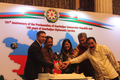 Azerbaijan Anniversary in Indonesia