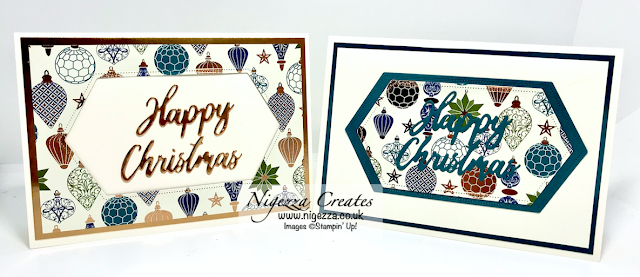 Nigezza Creates with Stampin' Up! and Brightly Gleaming & Stitched Nested Label Dies