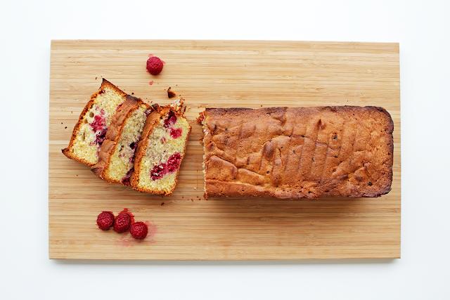 Κέικ με Raspberries