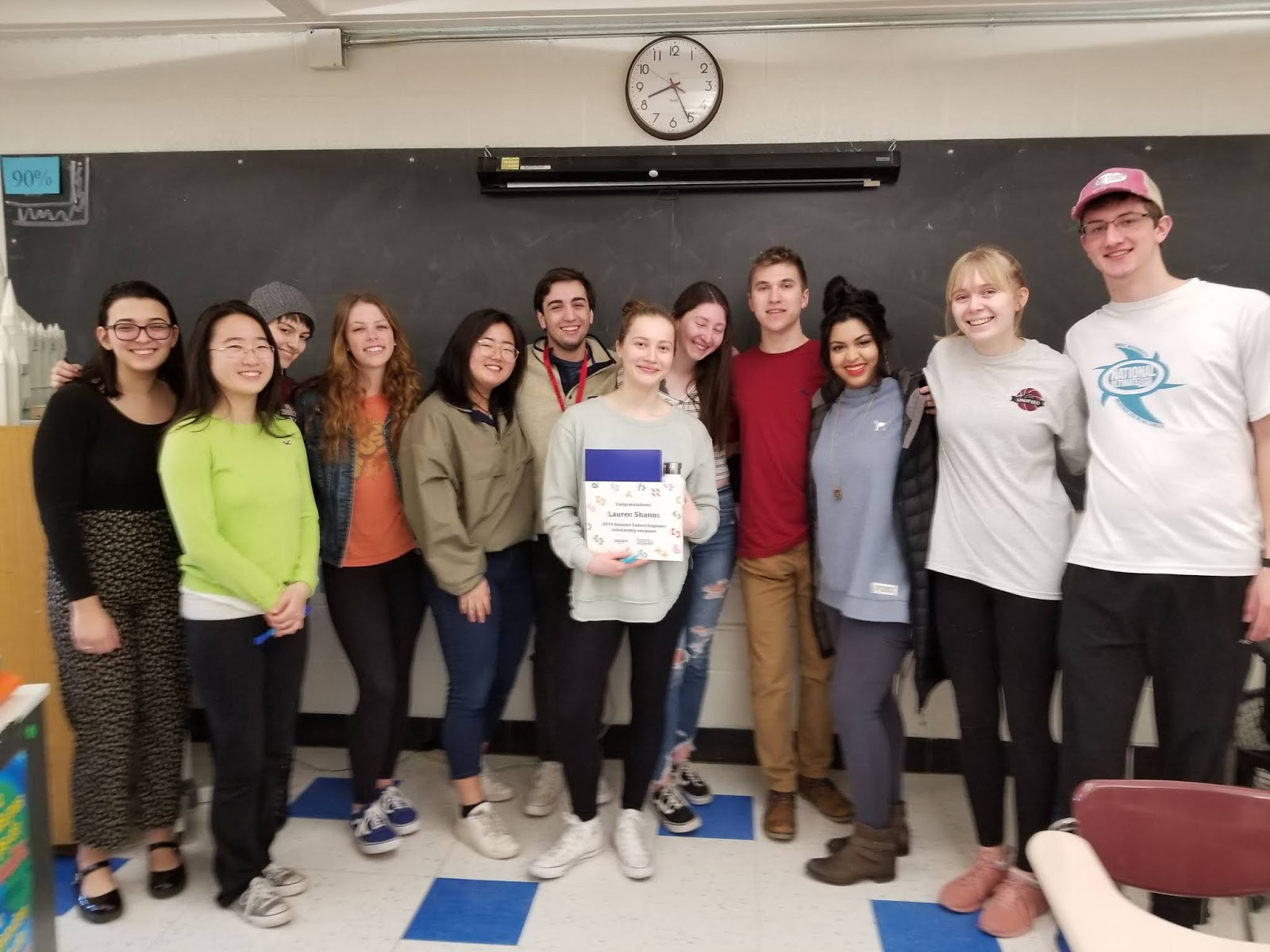 EGHS Success: Lauren Shanos- Amazon Future Engineer