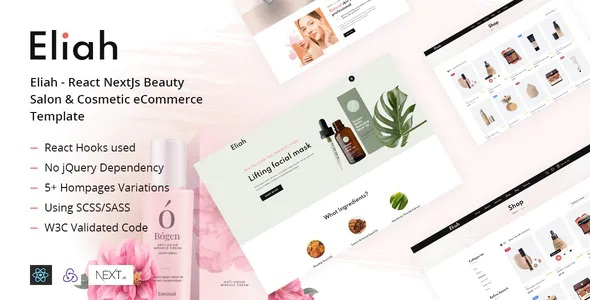 Beauty Salon & Cosmetic eCommerce Template