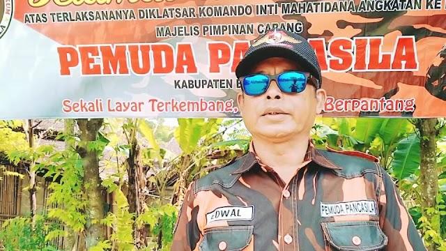 """Edy Waluyo : Kader Pemuda Pancasila Harus Jadi """"Agen Perubahan"""" dan Senantiasa Mengamankan Mengamalkan Pancasila"""