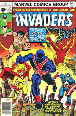 The Invaders #20, Union Jack
