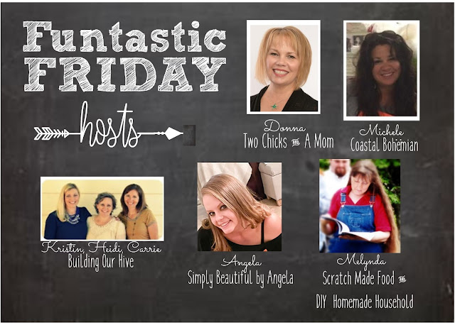 Funtastic Friday 12.03.2020. Stop by and say hello! Check out the great links to visit @ Scratch Made Food! & DIY Homemade Household.