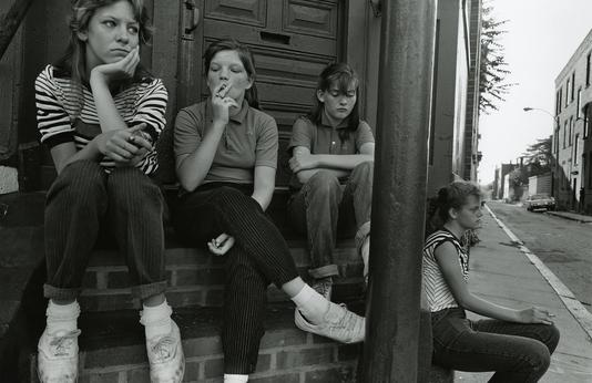 by Sage Sohier - South Boston - 1983 | 80s America boring teenagers documental life portrait photos