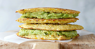 Grilled Cauliflower And Avocado Sandwich