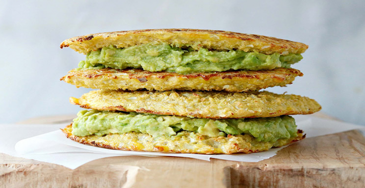Grilled Cauliflower And Avocado Sandwich, Gluten Free And So Delicious