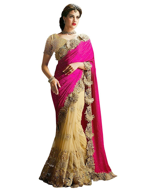 24ba146df56 Half Sarees for Girls and Women with 70% off on top brands