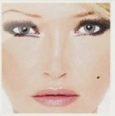 """Deborah Blando na capa do disco """"Polares"""", de 2007"""