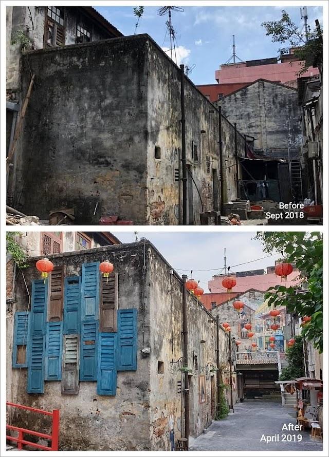 Kuala Lumpur | New street art at Kwai Chai Hong
