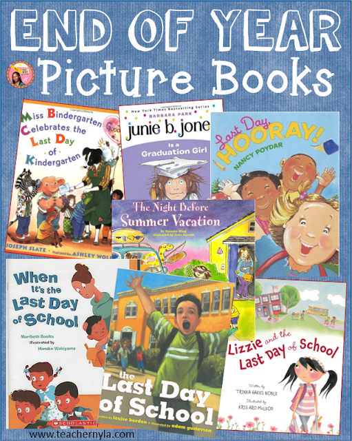 Picture books for the end of the school year