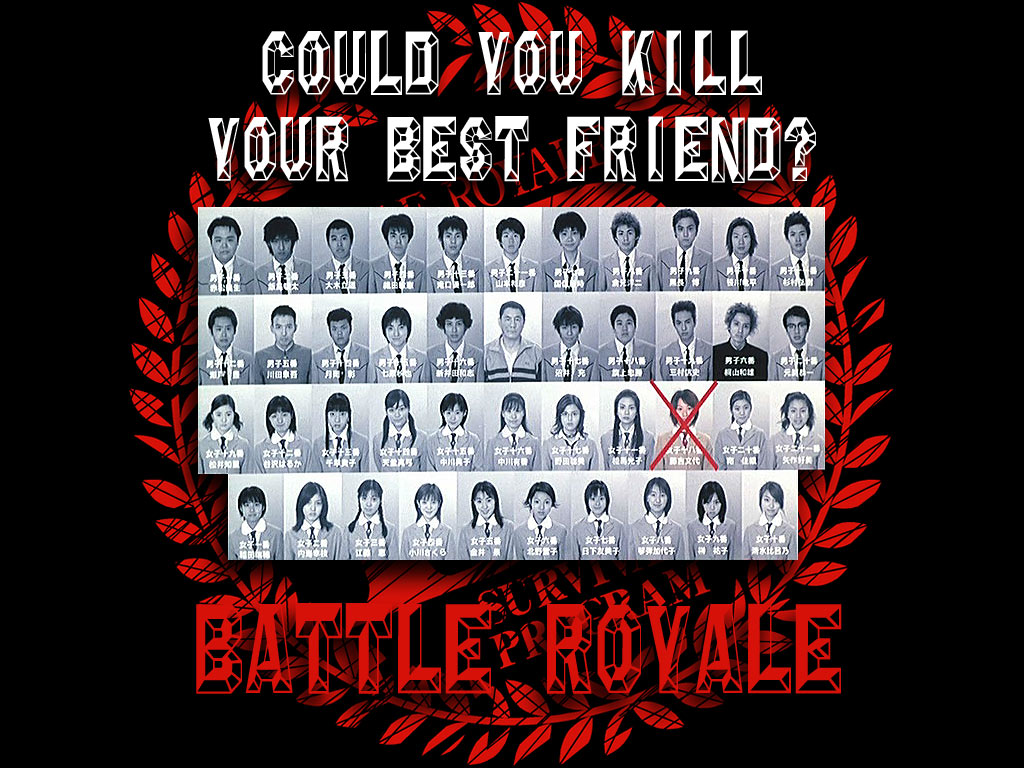 Film Mirip Anime Berserk - Battle Royale