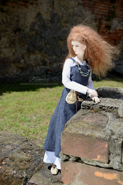 Historical outfit for 1/4 BJD doll