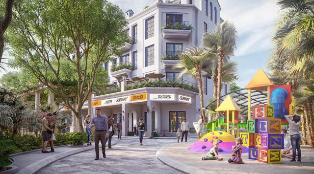 shophouse của dự án Sunshine Helios Ciputra Tây Hồ Hà Nội