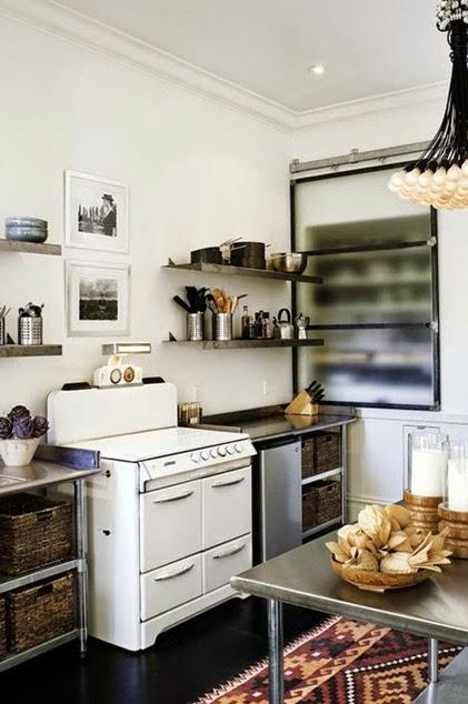 Inspiracje W Moim Mieszkaniu Skandynawska Biało Czarna Kuchnia