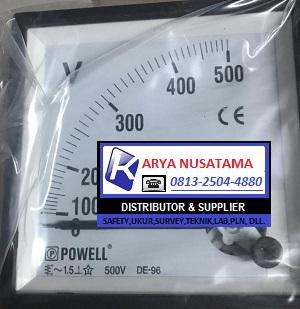 Jual Panel Analog Jarum 96 x 96 0 - 500V