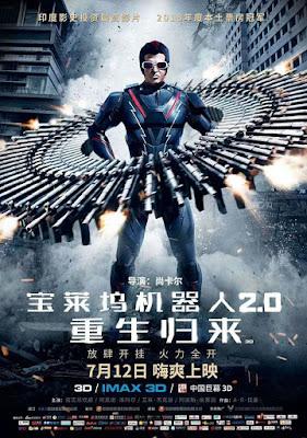 रजनीकांत की सुपरहिट फिल्म '2.0' चीनी बॉक्स ऑफिस पर रिलीज़ होने के लिए है तैयार