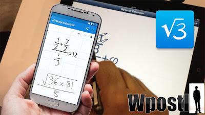 .سهلة وبسيطة وبديهية، مجرد كتابة العبارات رياضية على الشاشة ثم ترك التكنولوجيا تقوم بالباقي أداء سحره تحويل الرموز والأرقام إلى نص رقمي وتسليم النتيجة في الوقت الحقيقي. نفس التجربة كما الكتابة على الورق مع مزايا الجهاز الرقمي (خدش الرافضة، والنتائج في الوقت الحقيقي، ...).حل المعادلات الرياضية باليد دون الحاجة  إلى أزمة حفظ الأرقام في رأسك . شرح البرنامج عبر الفيديو التالي فرجة ممتعة .