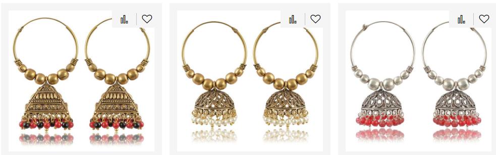 Stylish Silver Earrings