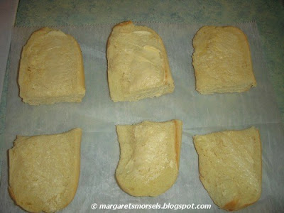 Margaret's Morsels | Cheese Toast