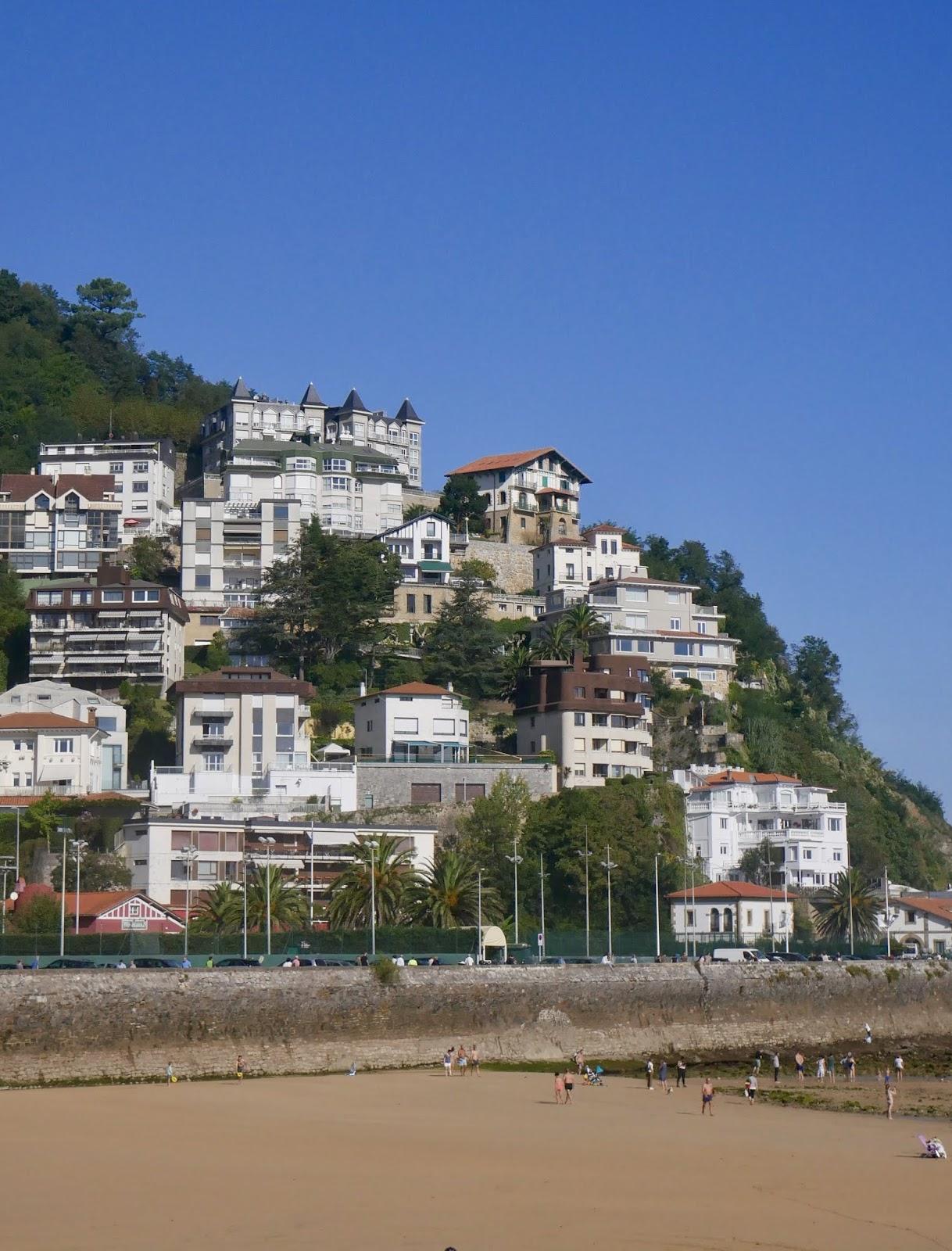 Architecture Playa de la Concha San Sebastian Pays Basque Espagne