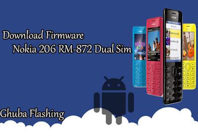 Bi Only File ini sanggup anda gunakan untuk memperbaiki Nokia  Download Firmware Nokia 206 RM-872 Dual Sim Version 04.51 Bi Only