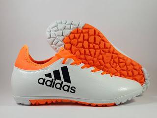 Adidas X 16.3 Futsal white Sepatu Futsal , jual futsal adidas , adidas x 2016, x16.3 turf, harga futsal adidas 2016