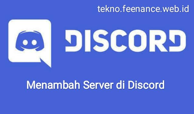 Menambah Server di Discord