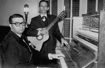 Ariel Ramírez y Lucas Braulio Areco