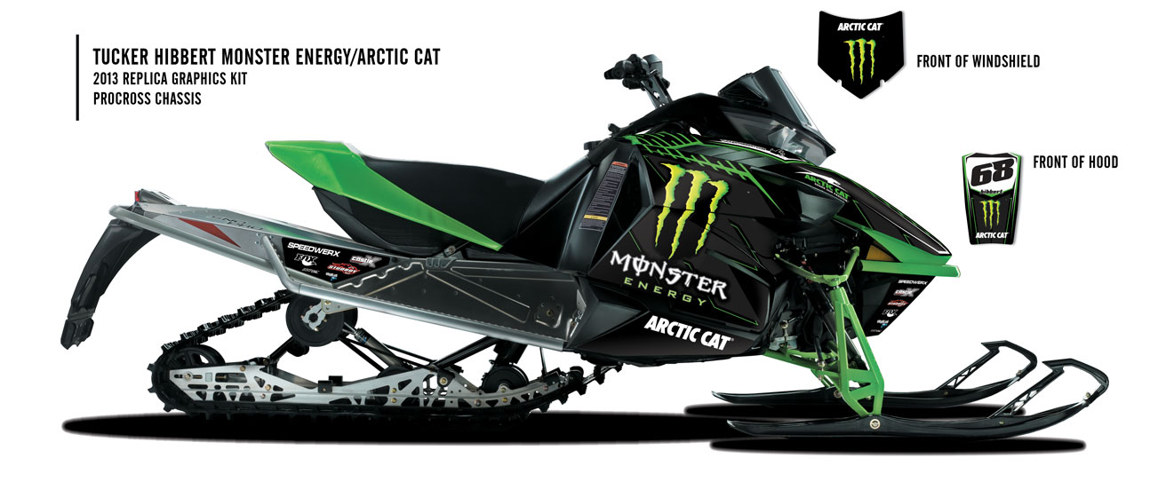 Tucker Hibbert Releases 2013 Monster Energy Arctic Cat