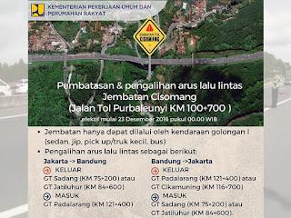 Info dan foto terbaru jembatan Cisomang