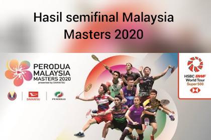 Hasil semifinal Malaysia Masters 2020, tidak ada wakil Indonesia yang masuk final