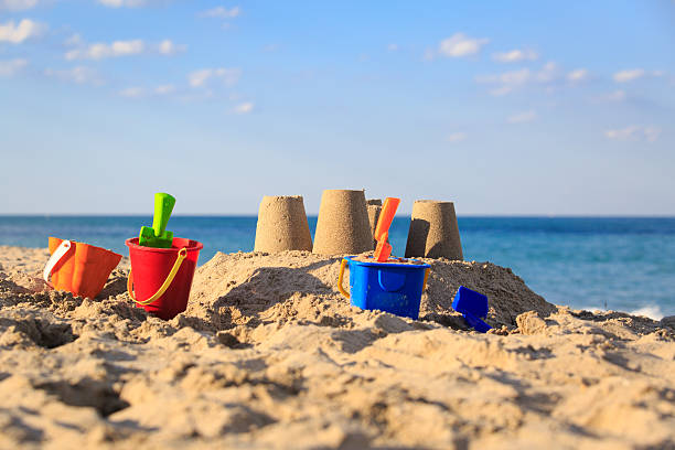 chateau-de-sable-a-la-plage