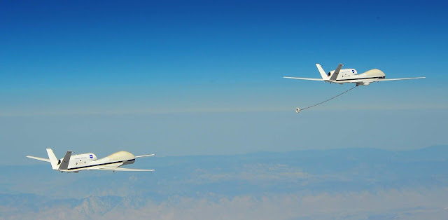 Autonomous High-Altitude Refueling Global Hawk