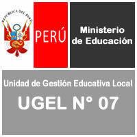 UGEL N° 7