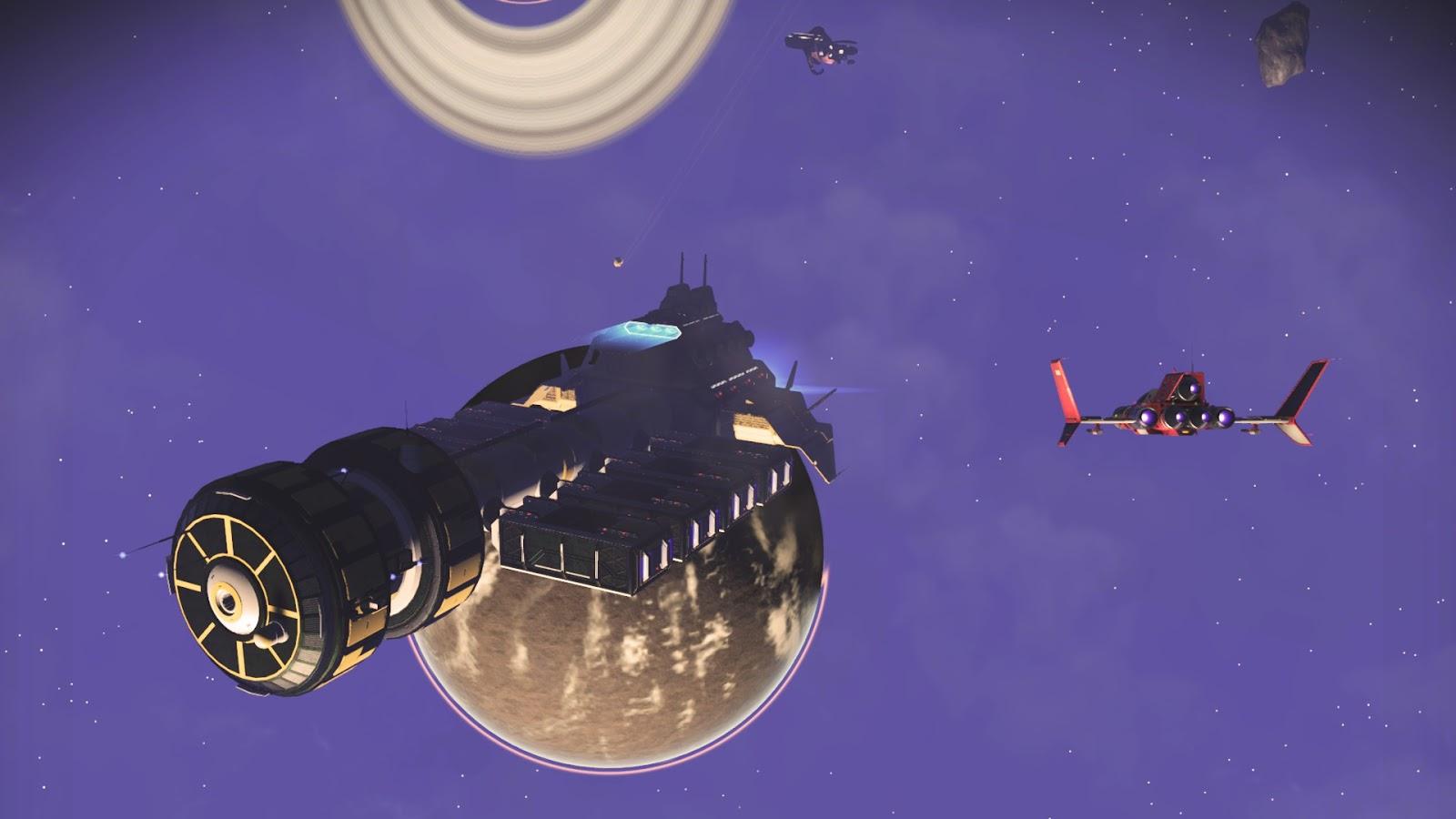 Space Gaming Fun Time
