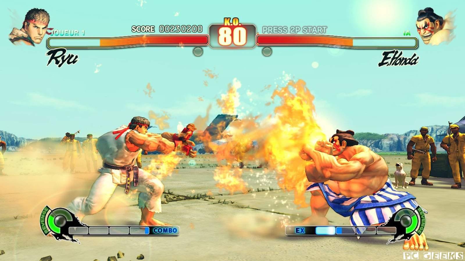 تحميل لعبة Super Street Fighter IV مضغوطة برابط واحد مباشر كاملة مجانا
